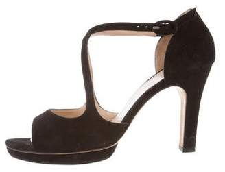 Repetto Platform Suede Sandals