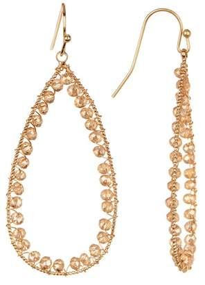 Panacea Crystal Beaded Earrings