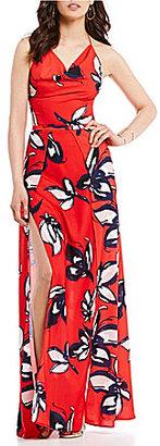 Style Stalker STYLESTALKER Harley Printed Maxi Dress $220 thestylecure.com