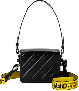 Off-White Off White Padded Diagonal Flap Shoulder Bag