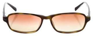 Chrome Hearts O-Beader Rectangle Sunglasses