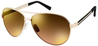 Southpole Men's 5008sp-Gldbk Aviator Sunglasses
