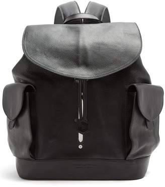 Lee Passavant And Scier Edition Leather Backpack - Mens - Black