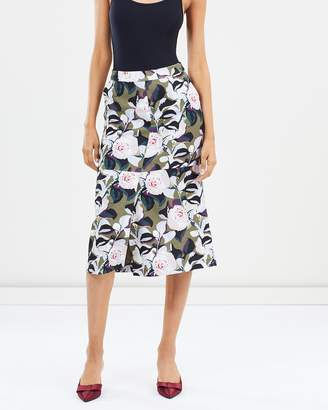 SABA Sophia Floral Skirt