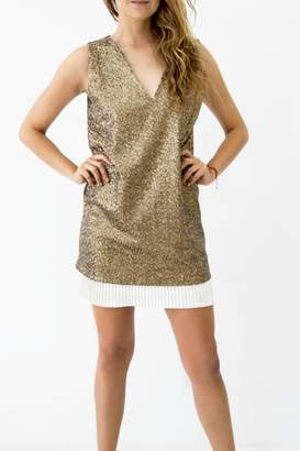 Sandra Weil Coin Sequin Dress