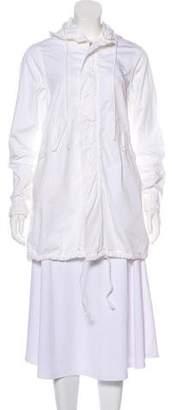 Nili Lotan Hooded Zip-Up Jacket