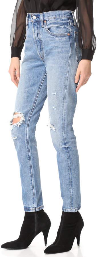 Levi's 501 Skinny Jeans 5
