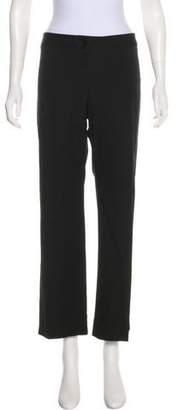 DKNY Mid-Rise Wide-Leg Pants