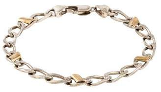 Tiffany & Co. Two-Tone Curb Link Bracelet