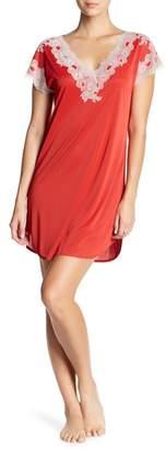 Natori Cap Sleeve Lace Sleepshirt