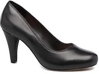 Clarks Women's Dalia Rose Rounded toe High Heels in Black