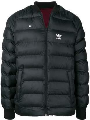 adidas reversible padded jacket