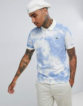 Lacoste Live L!VE cloud polo in blue