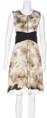 Narciso Rodriguez Printed Silk Dress