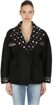 Isabel Marant Emmetis Studded Cotton Jacket