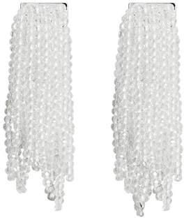 MANGO Crystal beads earrings