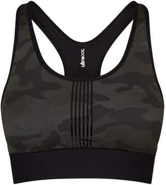ULTRACOR Camouflage Terrain Sports Bra