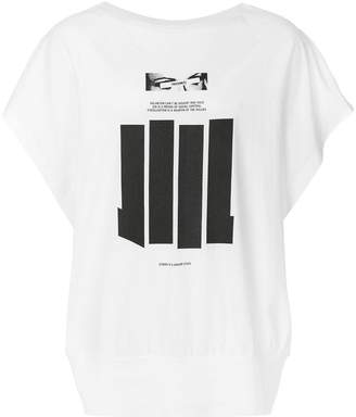 Niløs bar print T-shirt