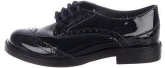 Gucci Boys' Patent Leather Oxfords