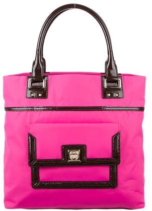 Kate Spade Kate Spade New York Patent Leather-Accented Nylon Tote