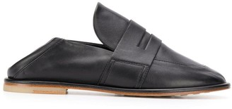 AGL round toe loafers