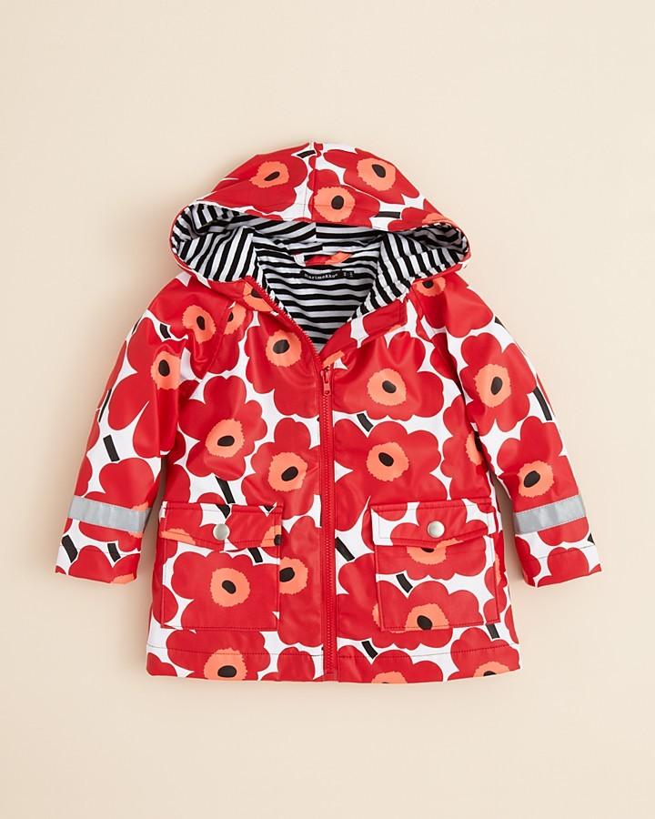 Marimekko Toddler Girls' Poppy Raincoat - Sizes 2-4