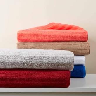 Mainstays Textured Performance Cotton Bath Sheet Towel - 2 piece set