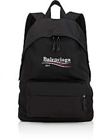 Balenciaga Men's Logo Backpack-Black