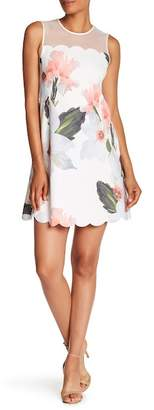 Ted Baker Chatsworth Bloom Scallop Tunic