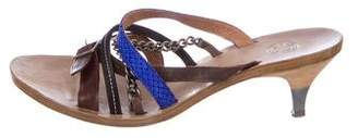 Dries Van Noten Multi-Strap Slide Sandals