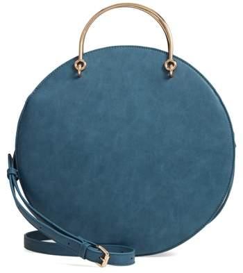 MALI AND LILI Mali + Lili Vegan Leather Round Top Handle Bag
