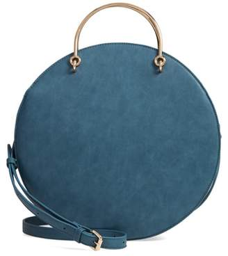 MALI AND LILI Mali + Lili Vegan Leather Round Top Handle Bag