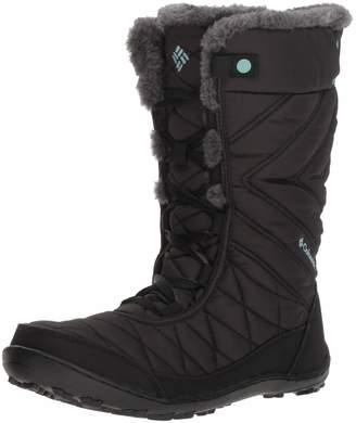 Columbia Girls' Youth Minx MID III Waterproof Omni-Heat Snow Boot