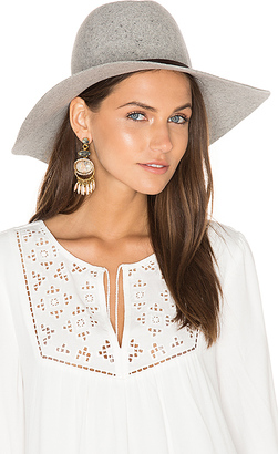 Hat Attack Taylor Large Brim Hat in Gray. $100 thestylecure.com