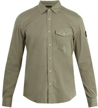 Belstaff Steadway single-cuff stretch cotton-blend shirt