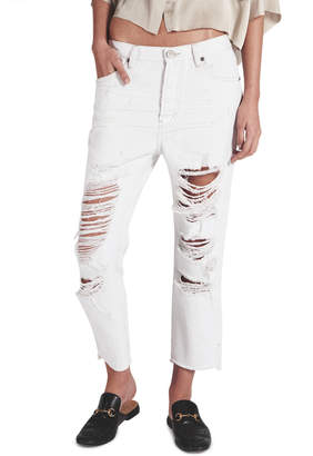 One Teaspoon Cococash Hooligans Low Waist Relaxed Straight Leg Jean