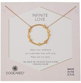 Dogeared Infinite Love, Large Star Halo Necklace Necklace