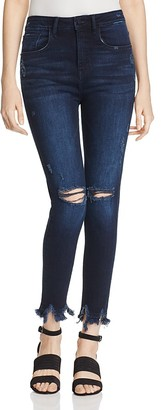 Warp and Weft MXP Distressed Legging Jeans $98 thestylecure.com