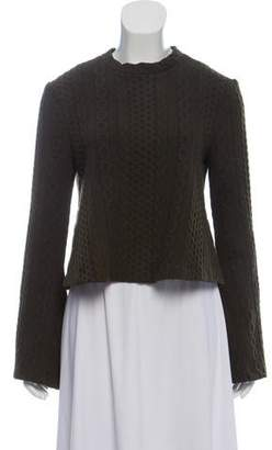 Nicholas Cable Knit Crew Neck Sweater