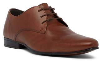 Kenneth Cole Reaction Shop-Ping List Plain Toe Leather Derby