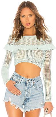 Tularosa Mindy Crochet Top