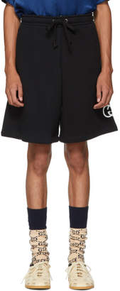 Gucci Black Logo Lounge Shorts