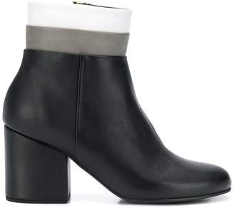 Paloma Barceló side zip ankle boots