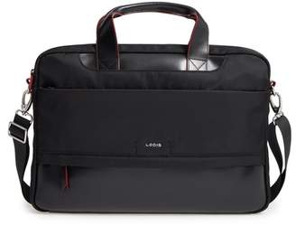 Lodis Kate Under Lock & Key Alexus Nylon & Leather Briefcase