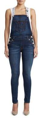 True Religion WOMENS ANKLE SKINNY OVERALL