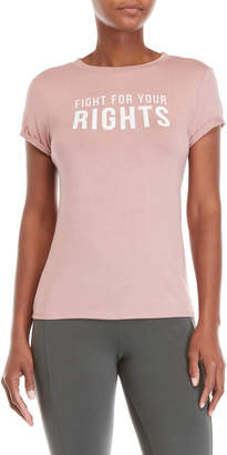 Knit Riot Fight For Your Rights Tee