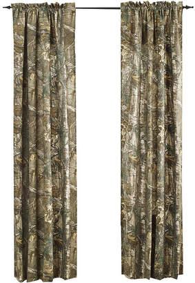 Realtree Xtra 2-Pack Camo Rod-Pocket Curtain Panels