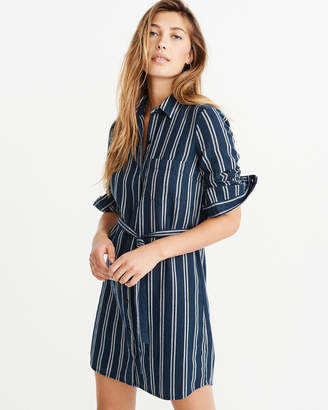 Abercrombie & Fitch Flannel Shirt Dress
