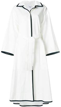 Thom Browne grograin trim robe coat