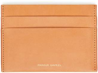 Mansur Gavriel Vegetable Tanned Credit Card Holder
